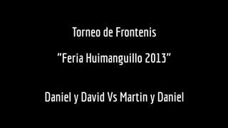 preview picture of video 'Torneo de Frontenis Feria Huimanguillo 2013 - Daniel y David Vs Martin y Daniel'