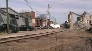 CSX Y111 switching Chase Park