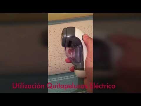 Utilización de quitapelusas eléctrico