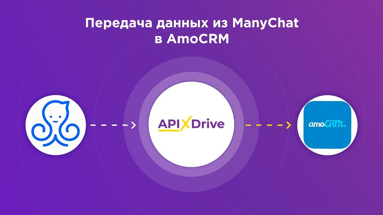 Как настроить выгрузку данных из ManyChat в виде сделок AmoCRM?