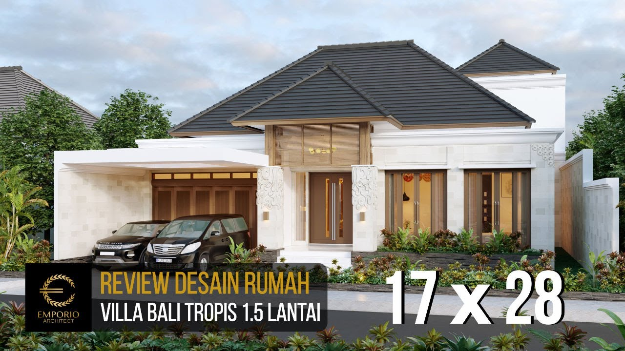 Video 3D Mr. Baihaqi Villa Bali House 1.5 Floors Design - Aceh