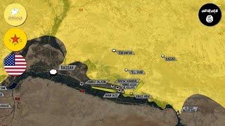 15 марта 2017. Военная обстановка в Сирии. США и курды окружают Ракку. Русский перевод.
