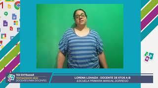 Lorena Lohaiza, Escuela Manuel Dorrego