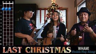 """""""Last Christmas"""" (Wham!) Ukulele Play Along!"""