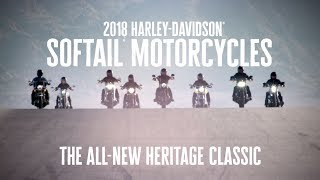 The All-New 2018 Harley-Davidson Heritage Classic | Harley-Davidson