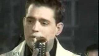 Michael Bublé peforming 'The way you look tonight.' On Vicki Cabereau's show.