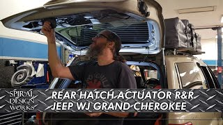 EP.3 - WJ JEEP GRAND CHEROKEE - REAR HATCH LOCK ACTUATOR REPLACEMENT