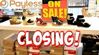 PAYLESS SHOE SOURCE CLOSING - SHOP WITH ME 2019