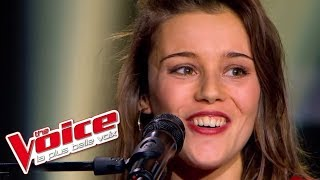 The Voice 2013 | Angélina Wismes - Mon enfance (Barbara) | Blind Audition