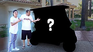 SURPRISING MY DAD WITH A NEW CAR!! (HIS DREAM CAR)
