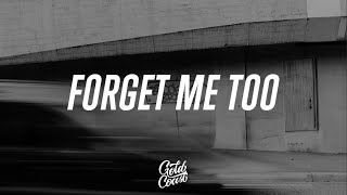 Machine Gun Kelly - Forget Me Too ft. Halsey (Lyrics)