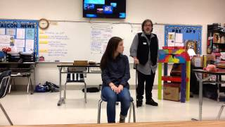 Shakespeare in the Classroom - Brooke Perry and Wesley Thompson - Florence Freshman Center