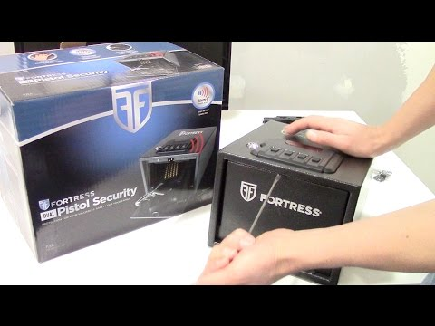 Costco's $50 Fortress Dual Pistol Security  – gun safe set-up & review