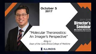 "Thumbnail of Director's Seminar: Dr. King Li - ""Molecular Theranostics: An Imager's Perspective"" video"