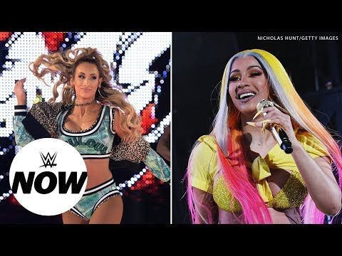 Are Cardi B & Carmella teaming up at SummerSlam?: WWE Now