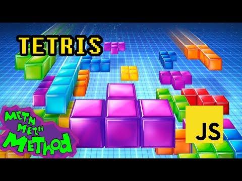 Writing a Tetris game in JavaScript