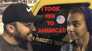 I took her to America!! وديت زوجتي رحلة الى امريكا