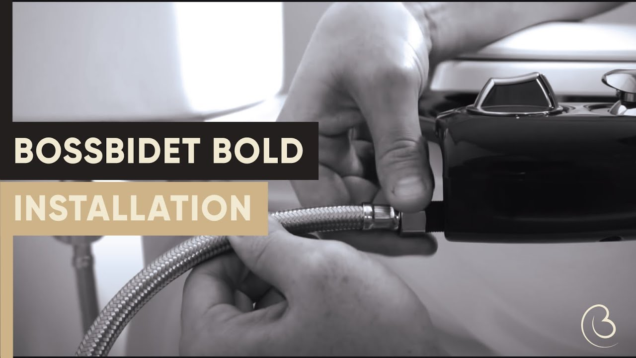 Boss Bidet BOLD (Black + Gold) video thumbnail