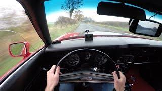 1972 Ford Mustang Mach 1 351 V8 Cobra Jet - POV TEST DRIVE 4K