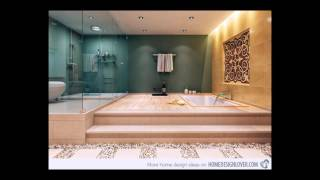 20 Stunning Dream Bathroom Designs