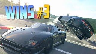 Racing Games WINS Compilation #3 (Epic Moments, Accidental Wins, Stunts & Close Calls)