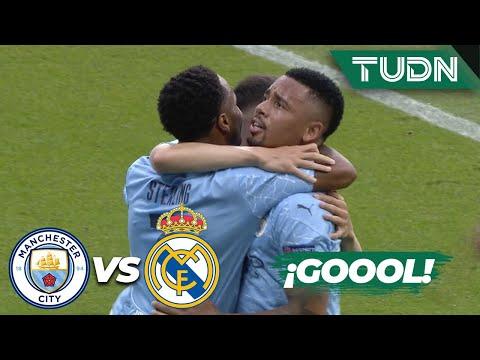 ¡ERROR INFANTIL! ¡Gol del City! | Man City 1-0 Real Madrid | Champions League 2020 – 8vos | TUDN