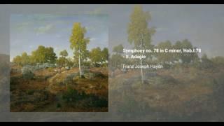 Symphony no. 78 in C minor, Hob. I:78