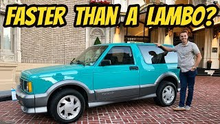 I Bought the Cheapest Teal GMC TYPHOON in the USA, and It