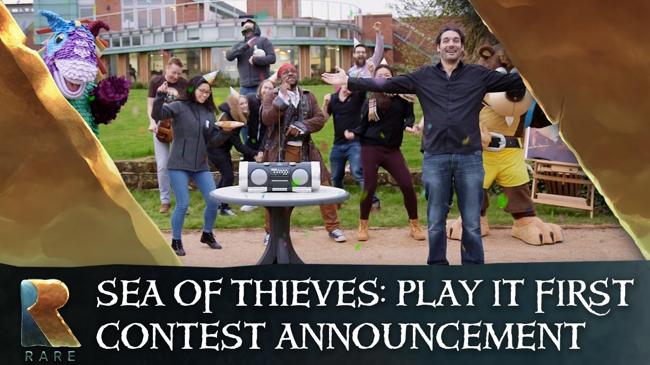 Video for Sea of Thieves is Looking for the First Fans in the World to Play the Game