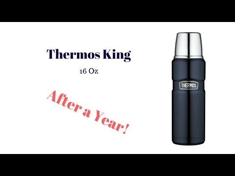 THERMOS KING STAINLESS STEEL  AFTER A YEAR!!!!!!!!!!!