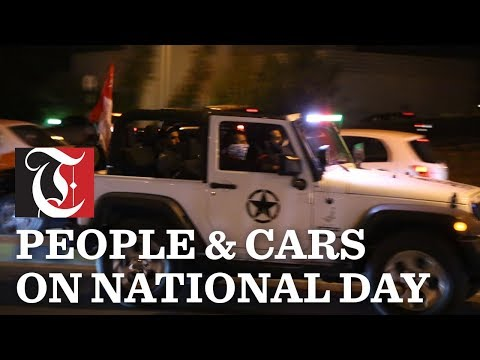 Video: Cars decked up on Muscat streets, on Oman's 48th National Day