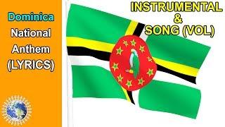 National Anthem of Dominica INSTRUMENTAL & SONG (Lyrics) ❤️Isle of Beauty❤️