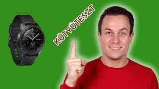 Samsung Galaxy Watch kütyüteszt Dáviddal