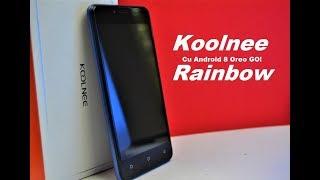 Koolnee Rainbow - Android 8 Oreo GO! Review in limba romana