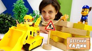 Щенячий патруль спасает котенка - Видео с игрушками для детей