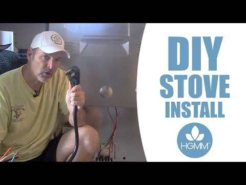 How to Install an Electric Stove Cord