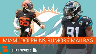 Miami Dolphins Rumors Mailbag: Trade For Yannick Ngakoue, Dalvin Cook, David Njoku? Best NFL CB Duo?