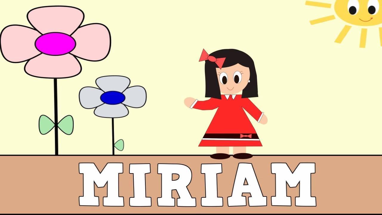 Aprender a Leer y Escribir MIRIAM -Vídeos educativos para Niñosy Bebés - Paty y Poty