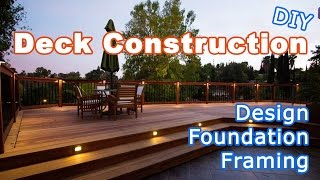 Deck Construction And Backyard Remodel