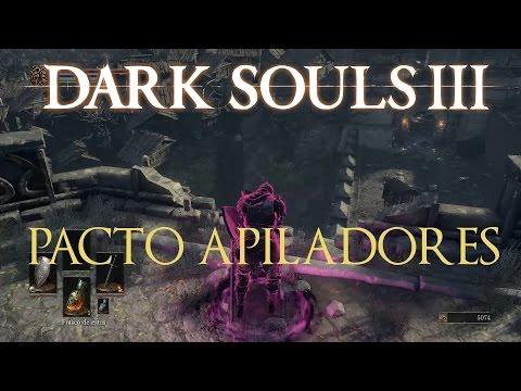 Dark Souls 3 - Guia | Como unirse al pacto de los Apiladores (Espíritus Morados)