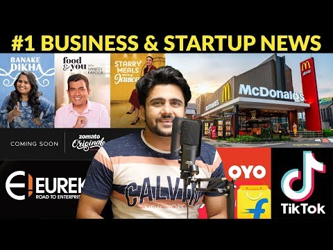 Business News #1| Zomato Video Streaming, McDonald's to buy AI startup, Haldiram' investment, etc