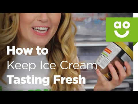 Keep Ice Cream Tasting Fresh By Covering It With Baking Paper