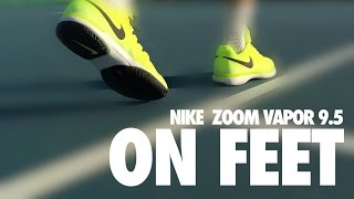 Nike Zoom Vapor 9.5 Tour Men's Tennis Shoes video