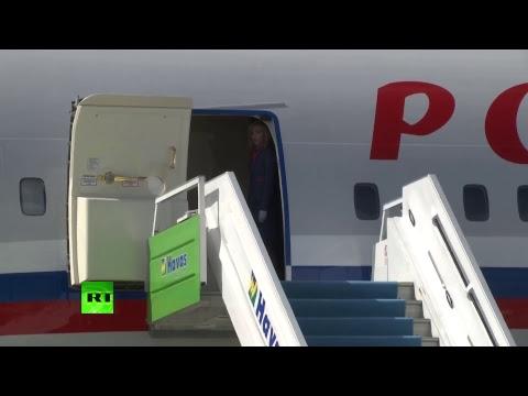 Прилёт Владимира Путина в Анкару — LIVE
