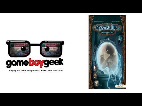 The Game Boy Geek Reviews Mysterium: Secrets & Lies