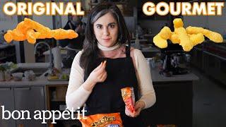 Pastry Chef Attempts To Make Gourmet Cheetos | Bon Appétit - dooclip.me
