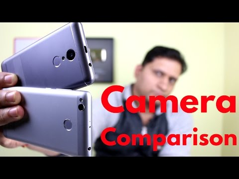 Hindi | Massive Camera Comparison of Lenovo K6 Power & Xiaomi redmi 3s Prime | Sharmaji Technical
