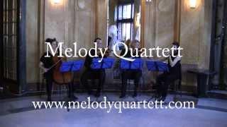 Smyčcové kvarteto-svatební hudba mix
