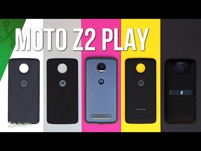 Moto Z2 Play y sus mods, análisis