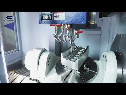 Campro NU-550 5-Axis Vertical Machining Center
